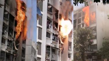Hindistan'da korkutan patlama