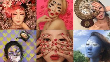 Koreli makyaj sanatçısının harikaları