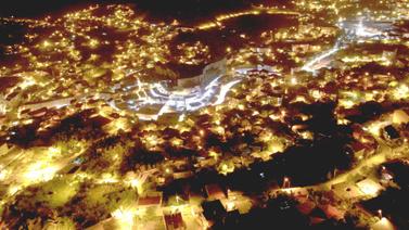 Güneş batıp ışıklar yandığında Bitlis