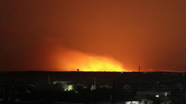 İdlib'e gece boyunca hava saldırısı düzenlendi