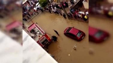 Darıca'da sel: 1 ölü 1 ağır yaralı