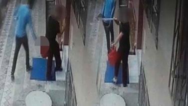 Temizlik yapan kadını taciz eden sapık tutuklandı