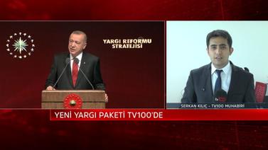Yargı reformunun ayrıntılarına tv100 ulaştı