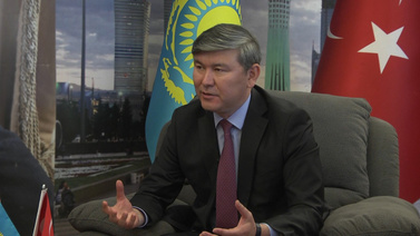 Kazakistan'ın Ankara Büyükelçisi tv100'e konuştu