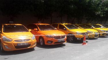 Taksicilere operasyon