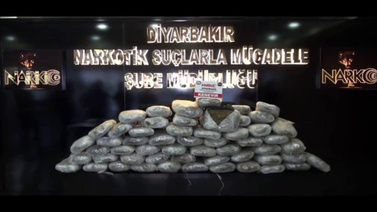 Diyarbakır'da 6 ayda 4 ton esrar ele geçirildi