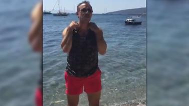 Haluk Levent soyunma videosu yayımladı