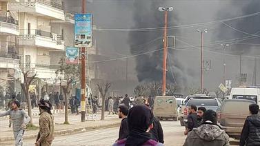 Afrin'de patlama: Çok sayıda ölen var
