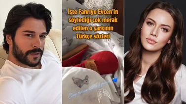 Fahriye Evcen, Karan'ı Memory şarkısı ile uyuttu