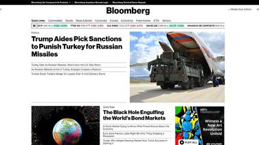Bloomberg: ABD, Türkiye'yi cezalandıracak