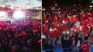 Atatürk Havalimanı'nnda 15 Temmuz töreni