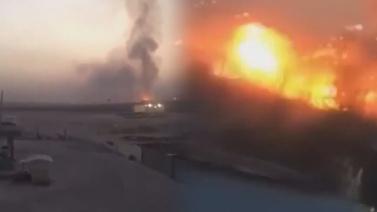 Erbil'de silah deposunda patlama!
