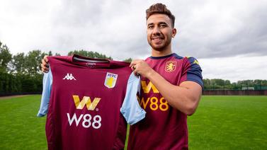 Trezeguet Aston Villa'ya transfer oldu
