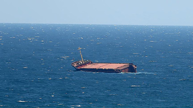İran'a ait kuru yük gemisi battı
