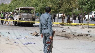Afganistan'da hain saldırı!