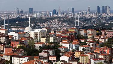 İstanbul'da konut fiyatları yüzde 1,29 arttı
