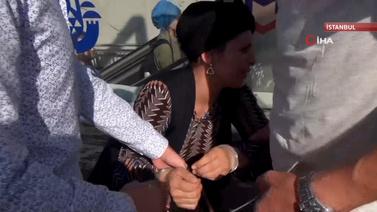 Taksim'de Suriyeli kadın Tunuslu kadınları soydu