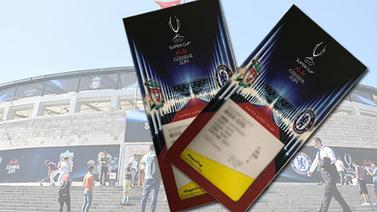 UEFA Süper Kupa maçının biletleri kaç lira?