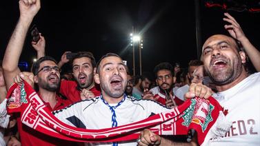 Taksim'de Liverpool çılgınlığı