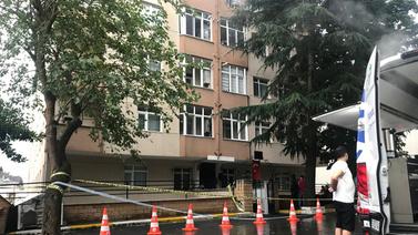 Sarıyer'de 6 katlı bina boşaltıldı!