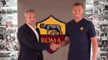 Edin Dzeko Roma'da kaldı