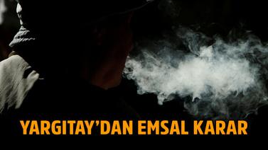 Sigara içen işçiye kötü haber