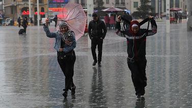 Kuvvetli ve çok kuvvetli yağış uyarısı!