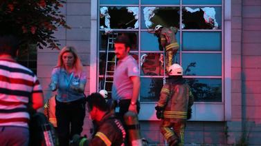 İstanbul'da hastane yangını!
