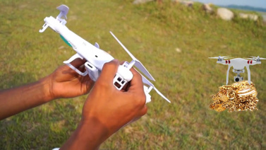 Lüks villada drone'lu soygun