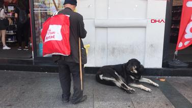 Taksim'de bir sokak köpeği 2 turisti ısırdı