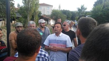Kazalardan bıkan vatandaşlar isyan etti,