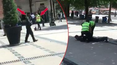 Polis çöpçü kılığında suçüstü yakaladı
