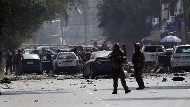 Afganistan'da büyük patlama