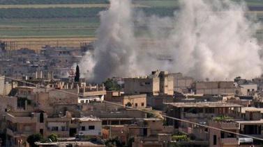 Esad 8 gün sonra İdlib'i yine vurdu