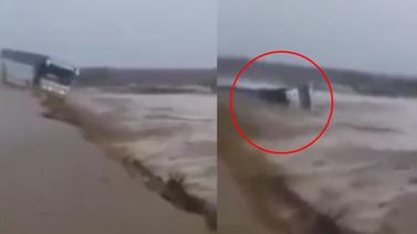 Sele kapılan otobüste 6 kişi hayatını kaybetti
