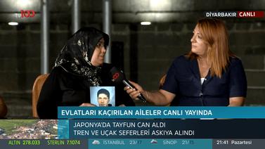 #tv100Diyarbakırda ailelerin yanında