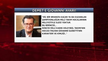 Cengiz Semercioğlu'ndan Demet Akalın'a Giovanni ay