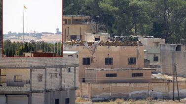 Terör örgütü YPG sınırda varlığını sürdürüyor