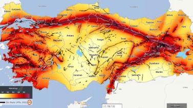 Yeni deprem haritasında İstanbul'da risk arttı
