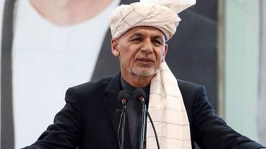 Afganistan Cumhurbaşkanının mitingde patlama