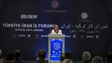 Pekcan: Türkiye-İran ticaretini ivmelendireceğiz