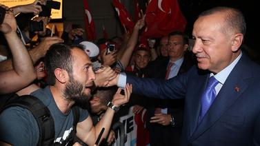 Erdoğan'a ABD'de sevgi seli