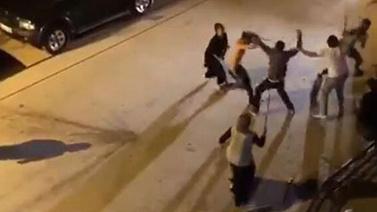 Ankara'da taşlı sopalı meydan kavgası!