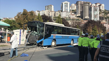 Halk otobüsü şoförü tutuklandı