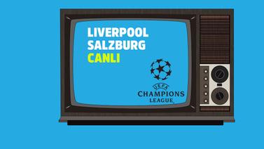 CANLI Liverpool Salzburg
