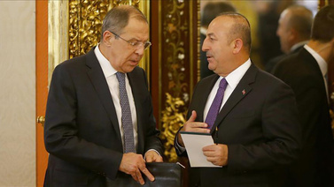 Çavuşoğlu, Lavrov ile Suriye'yi görüştü