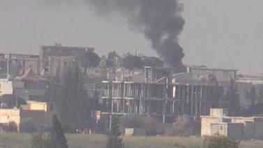 Tel Abyad yoğun ateş altında