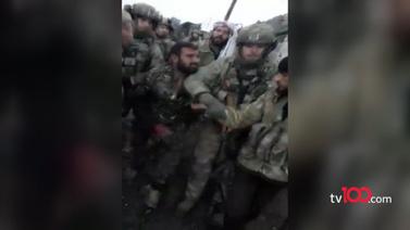 Türk askerinin yakaladığı YPG'li