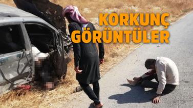 Teröristler füzeyle sivilleri vurdu!