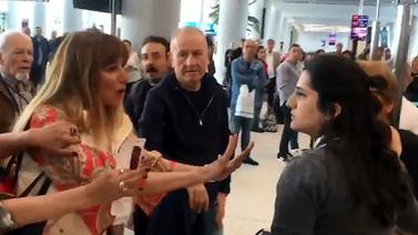 Havalimanındaki hakaret için karar verildi!